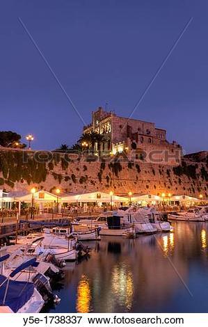 Picture of Spain, Balearic Islands, Menorca, Ciutadella, Historic.
