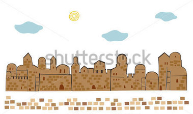 Old City Clipart.