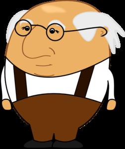 Old Man Clip Art at Clker.com.
