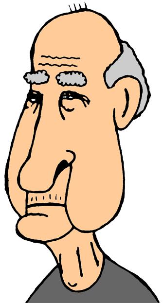 Clip Art Old Men Clipart.
