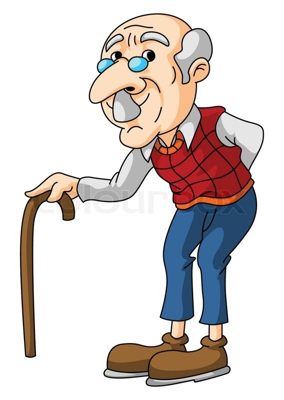 Image result for old man cartoon images.