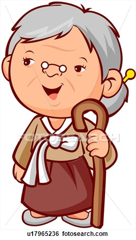 Old people old clipart image #27710.