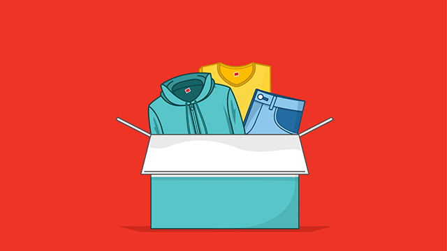 Hanes Partners with Give Back Box to Give Old Clothes New.