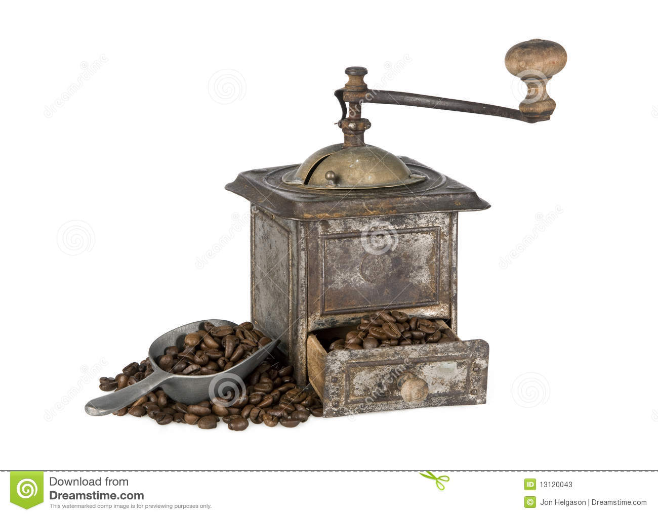 Antique Coffee Grinder Stock Photos, Images, & Pictures.