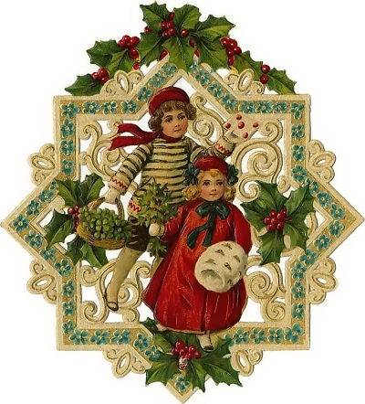 christmas clip art old fashioned free clip art from vintage.