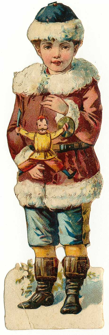 Vintage Holiday Clipart.