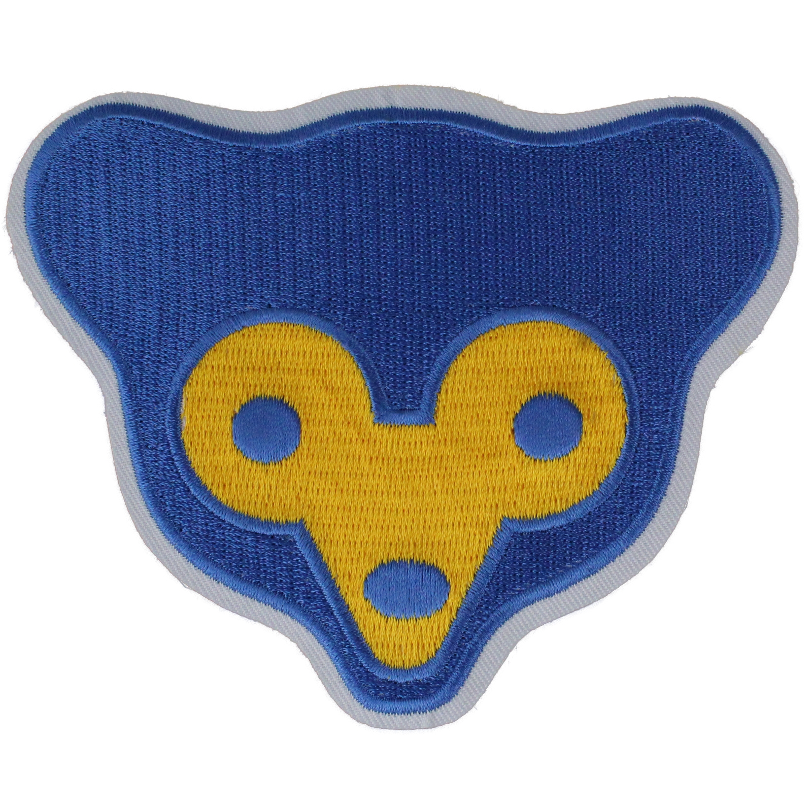 Details about Chicago Cubs Bear Face 1960\'s Retro Old Sleeve Emblem Patch  Jersey MLB Logo.