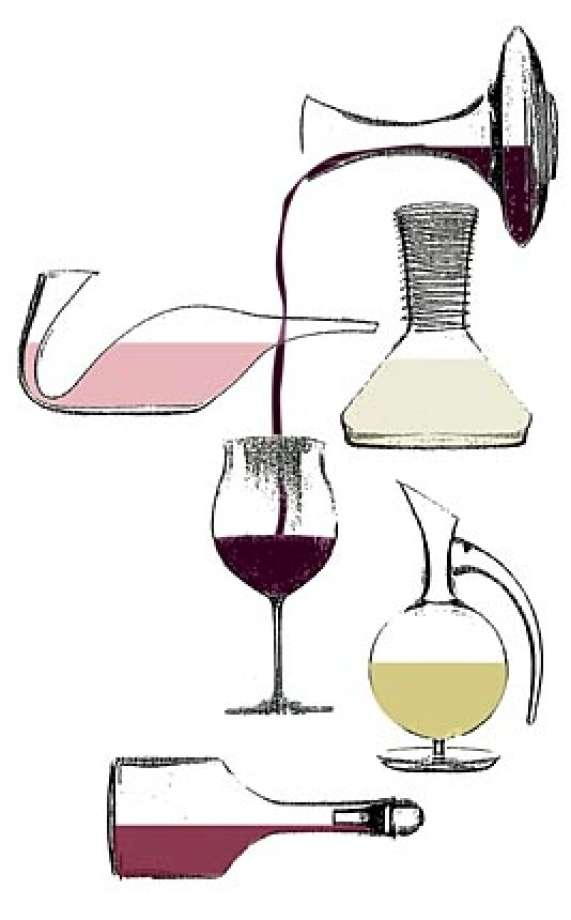 Decanting demystified / Most wines.