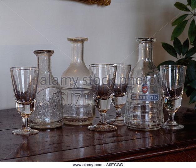 Glass Decanter Domestic Stock Photos & Glass Decanter Domestic.