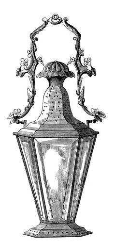 vintage wine decanter clip art, antique wine bottle image, black.