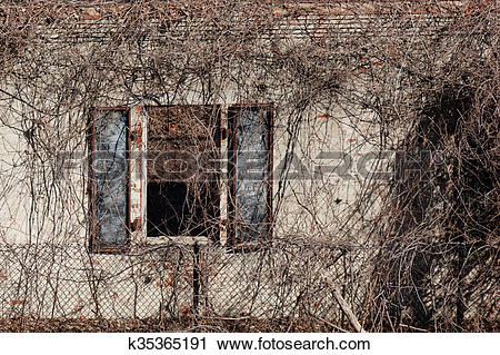 Stock Photography of Architectural Decay k35365191.