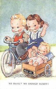 Vintage Dinah postcard.