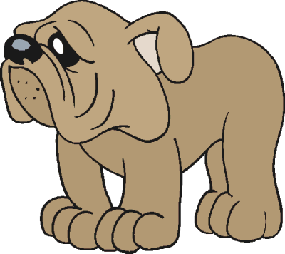 Free Dog Clipart, 12 pages of Public Domain Clip Art.