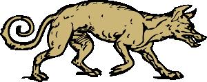 Mangy Dog Clip Art at Clker.com.