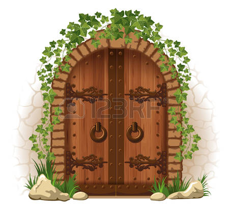 15,464 Old Door Cliparts, Stock Vector And Royalty Free Old Door.