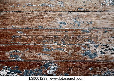 Drawing of Vintage Wood Door k35001233.