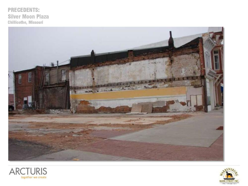 Old Drum Plaza — Warrensburg Main Street, Inc..