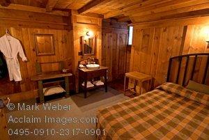 Stock Photography of Old Faithful Inn.