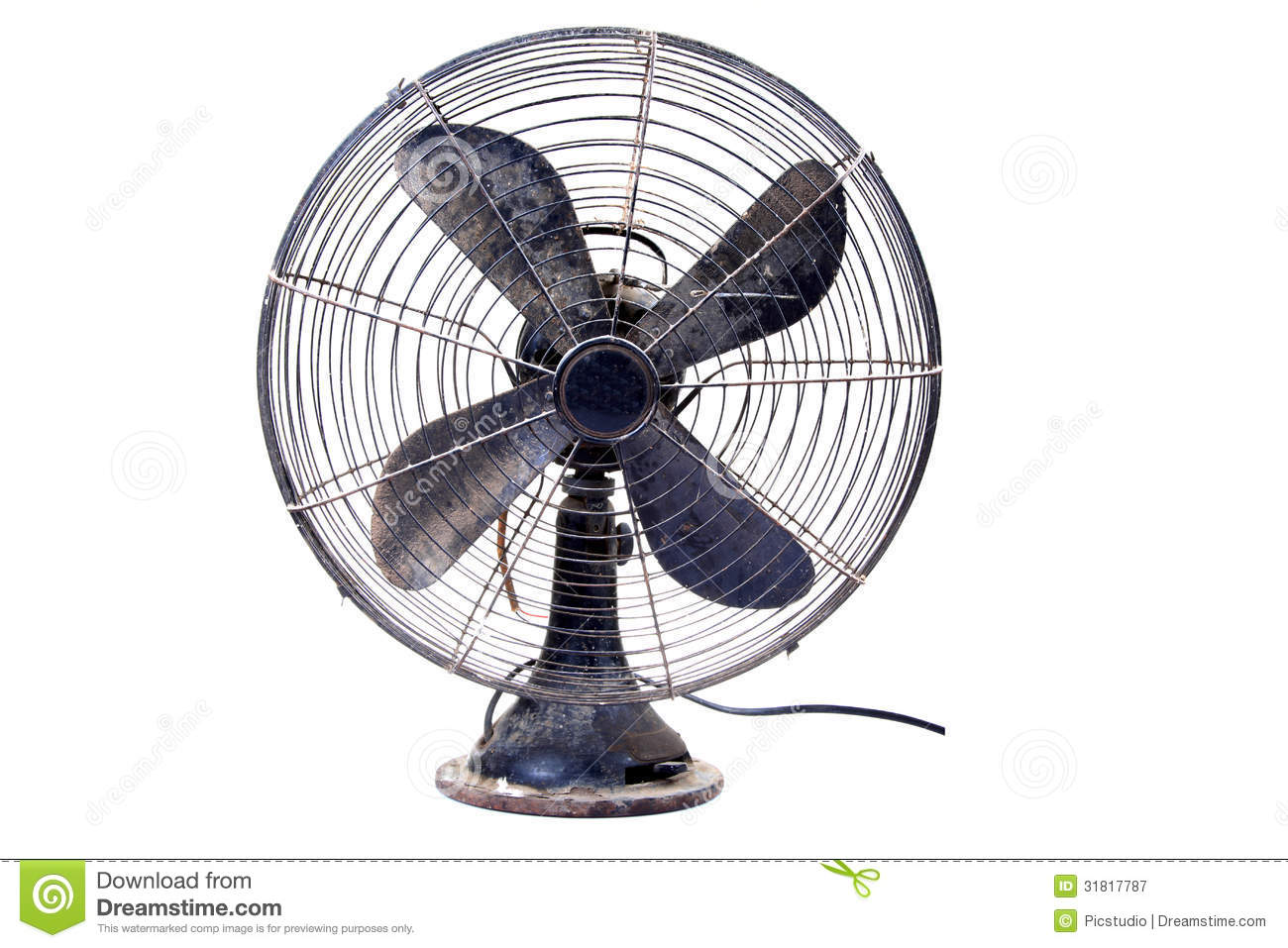 Table fan clipart.