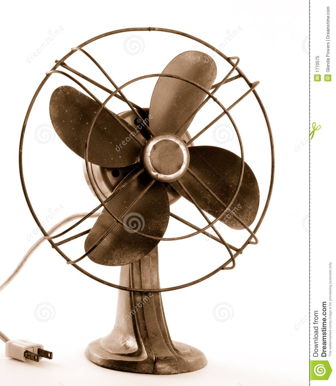Vintage Electric Fan Royalty Free Stock Photo.