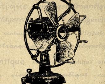 Retro electric fan.