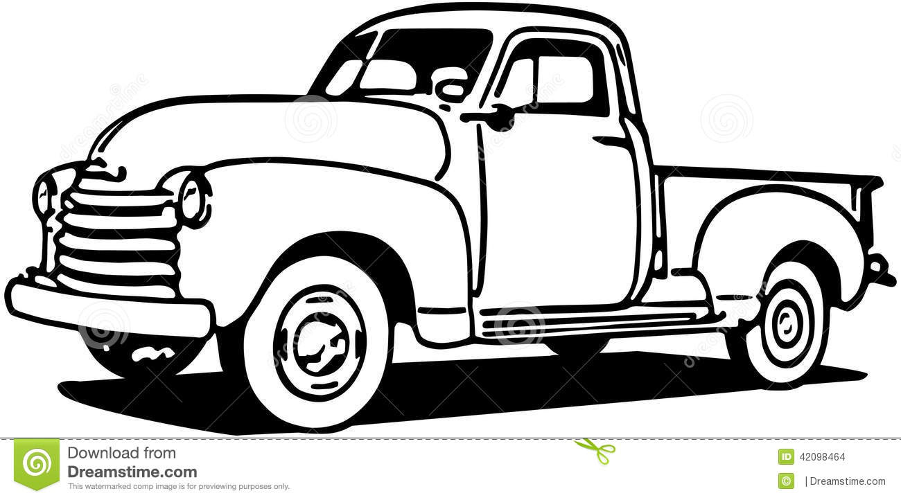 Ford Truck Clipart.