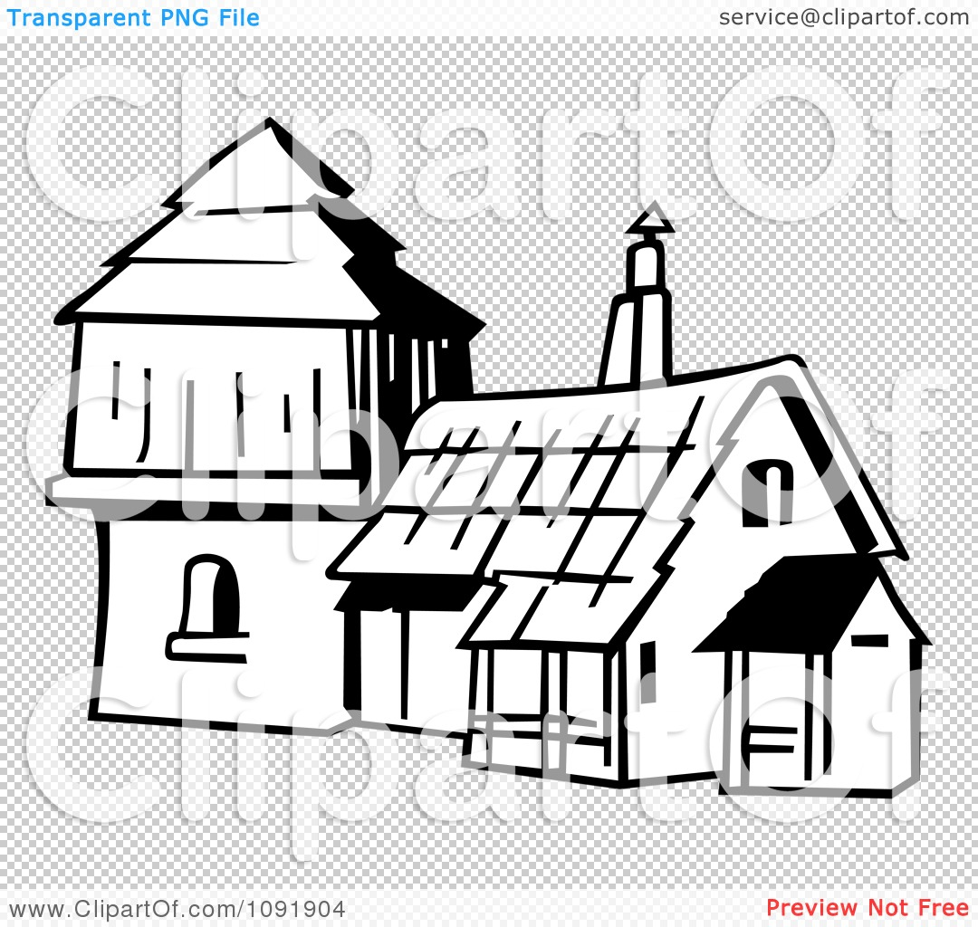 Old Fashioned House Clipart (61+).
