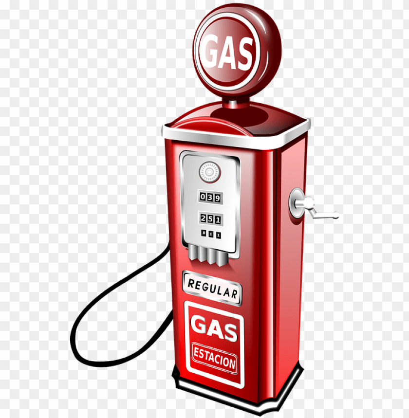 how to set use old fashioned gas pump clipart PNG image with.