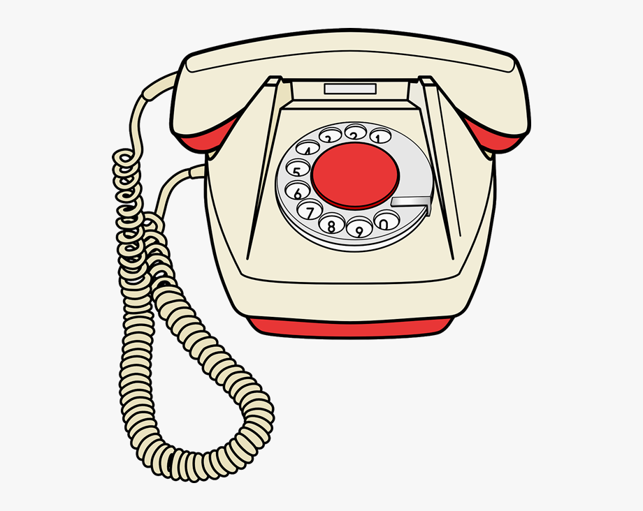 Telephone Free To Use Clip Art.