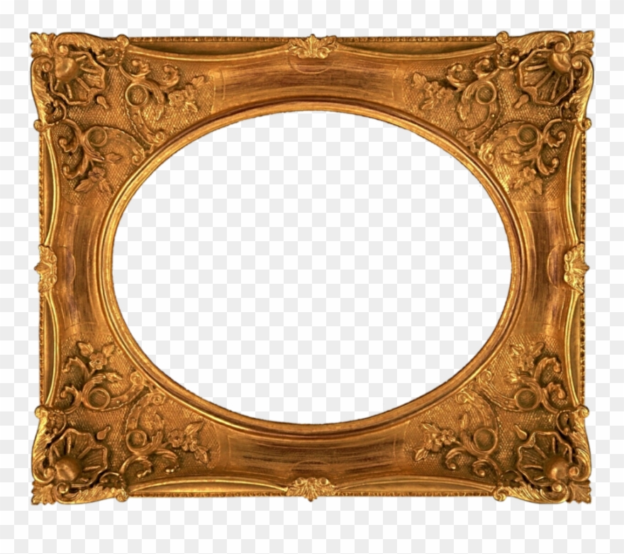 Fancy Old Picture Frame Clipart Picture Frames Antique.