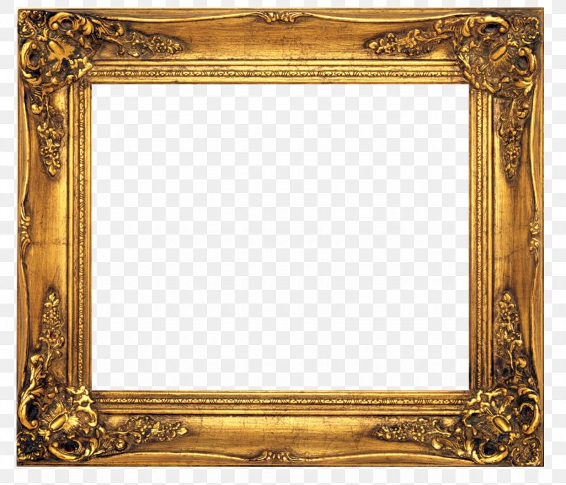Old Fashioned Picture Frames Stock Photography Clip Art, PNG.