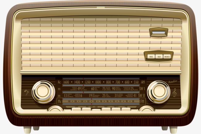 Vintage Radio, Radio Clipart, Radio, Electric PNG.