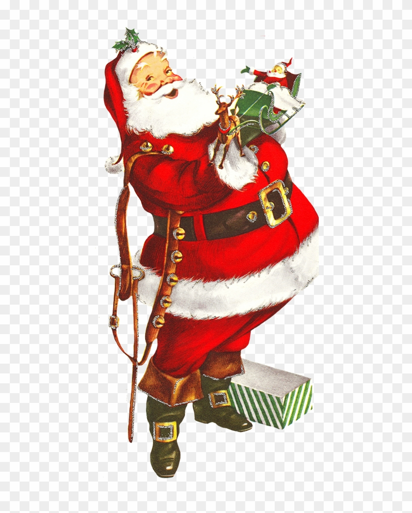 Png Of Old Fashioned Santa Claus & Free Of Old Fashioned.