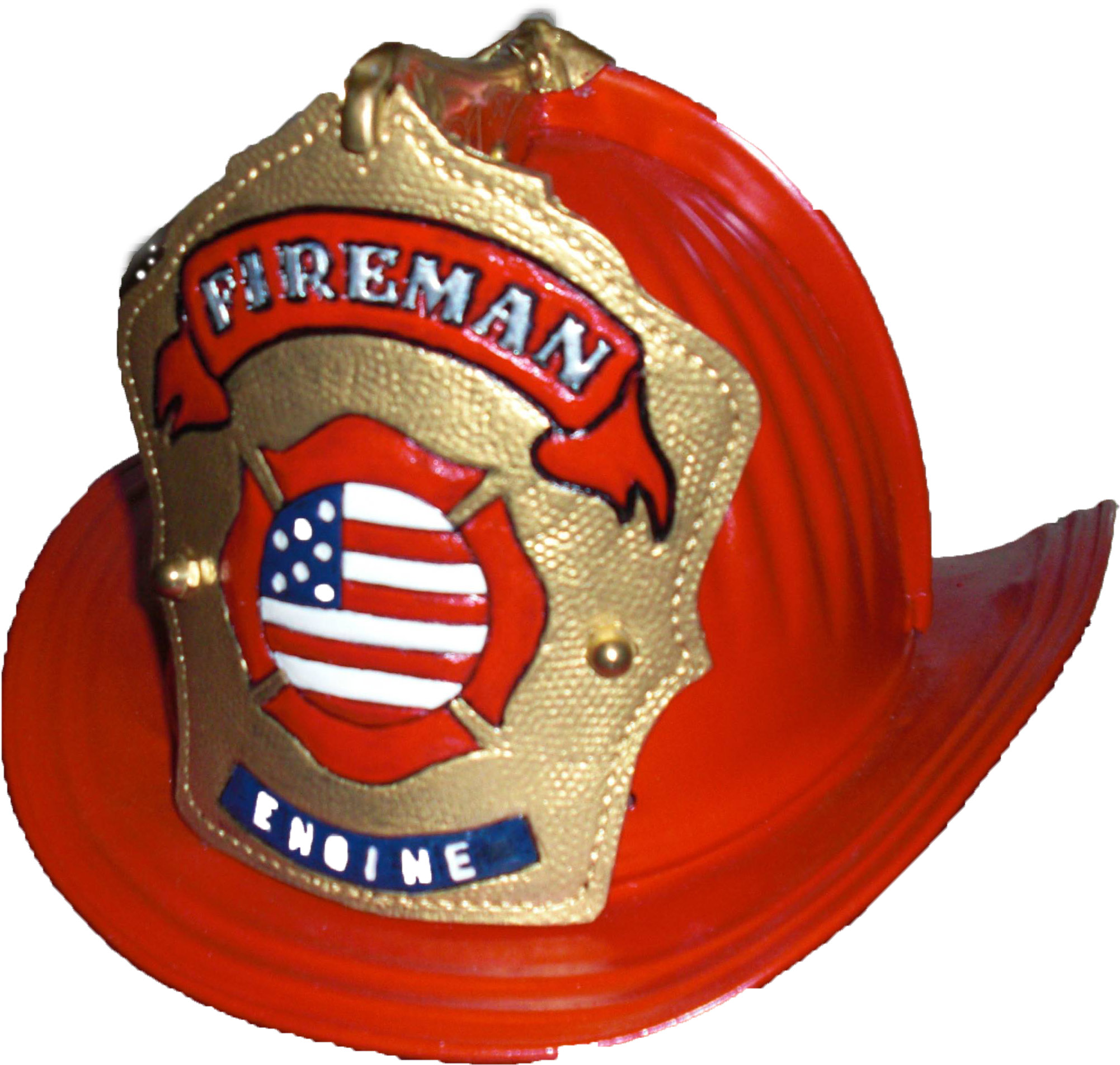 Firefighter Hat Front.