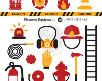 Fireman clip art.