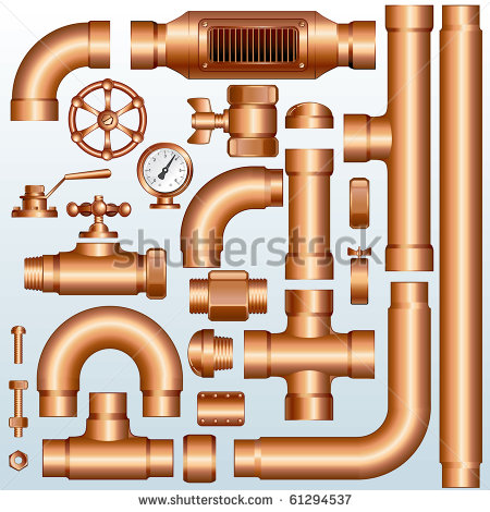 Oil Pipe Fittings Stock Photos, Royalty.