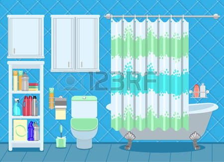 84 Bathroom Fittings Stock Vector Illustration And Royalty Free.