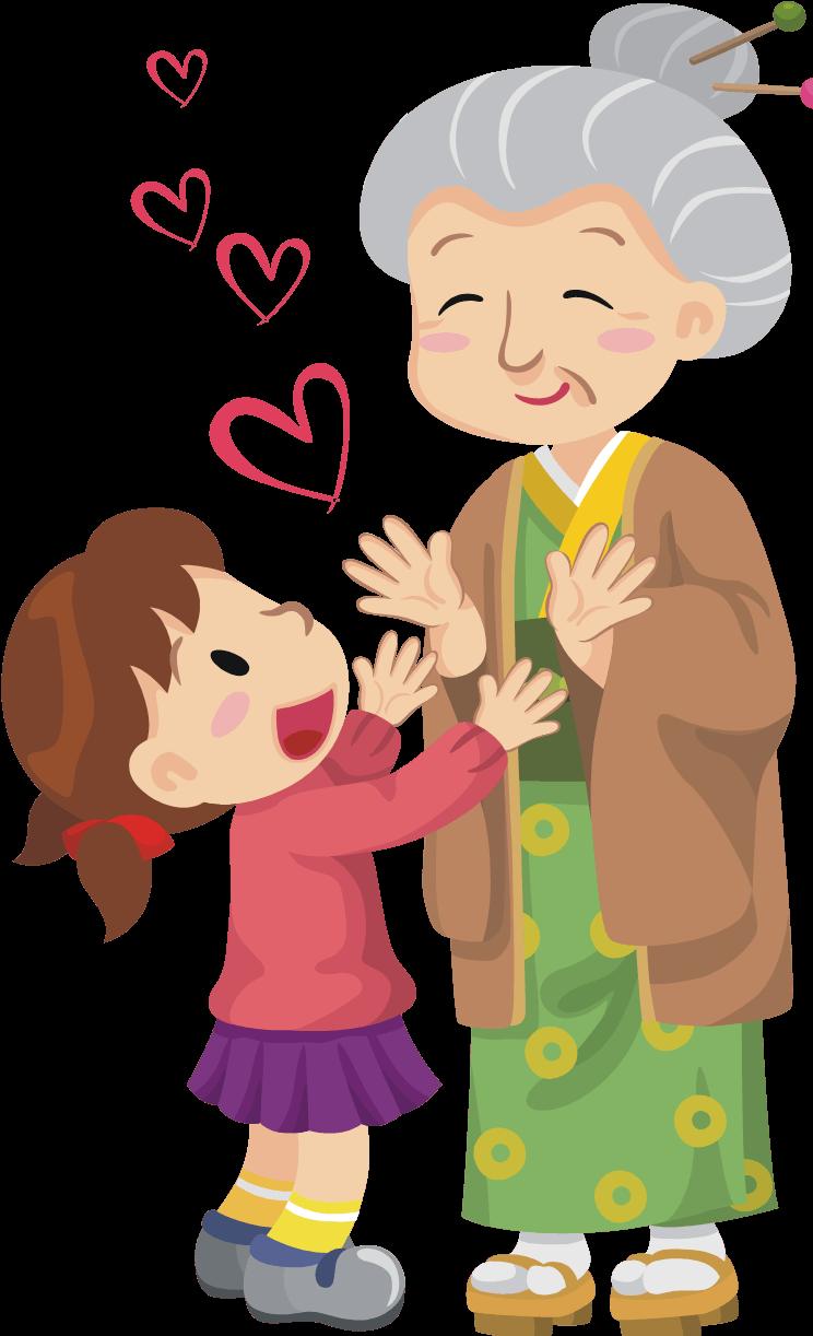 Grandmother clipart old folks, Grandmother old folks.
