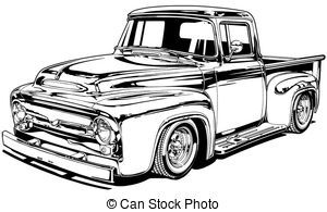 Old ford truck clipart » Clipart Portal.