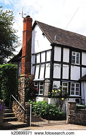 Stock Photography of The old forge, Weobley. k20899371.