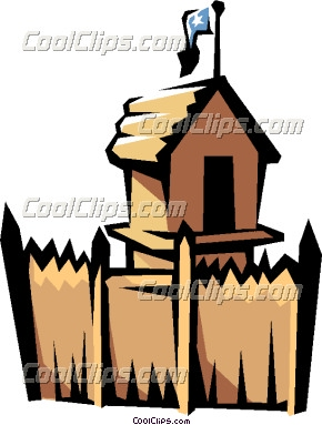 Old Fort Clipart.