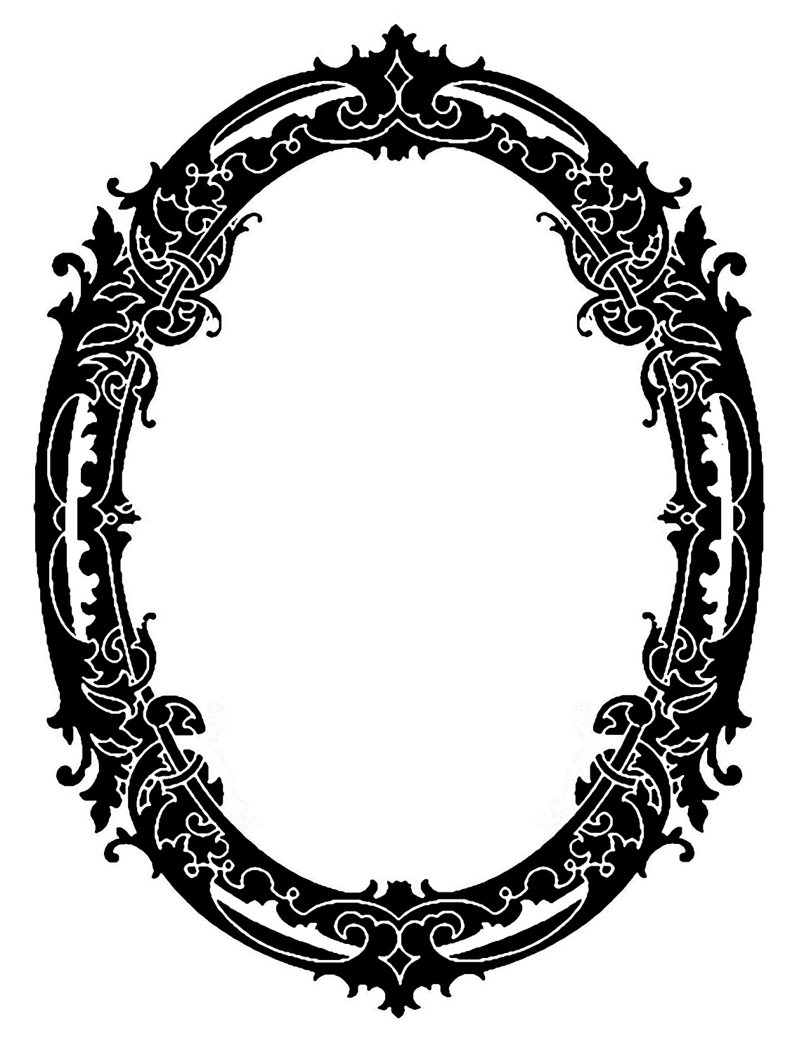 Clipart old photo frame.