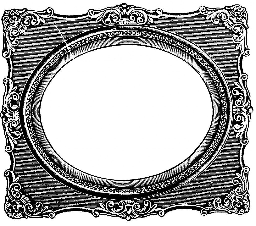 Old frame clipart.