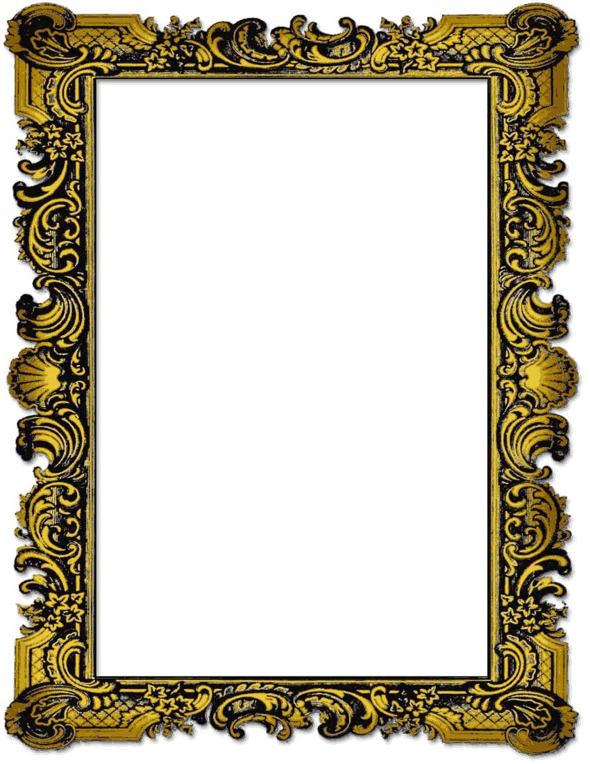 Vintage Frame Clipart.