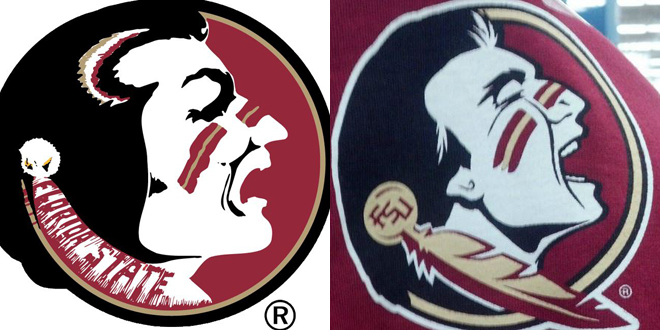 Florida State fans furious with leaked Seminole logo update.