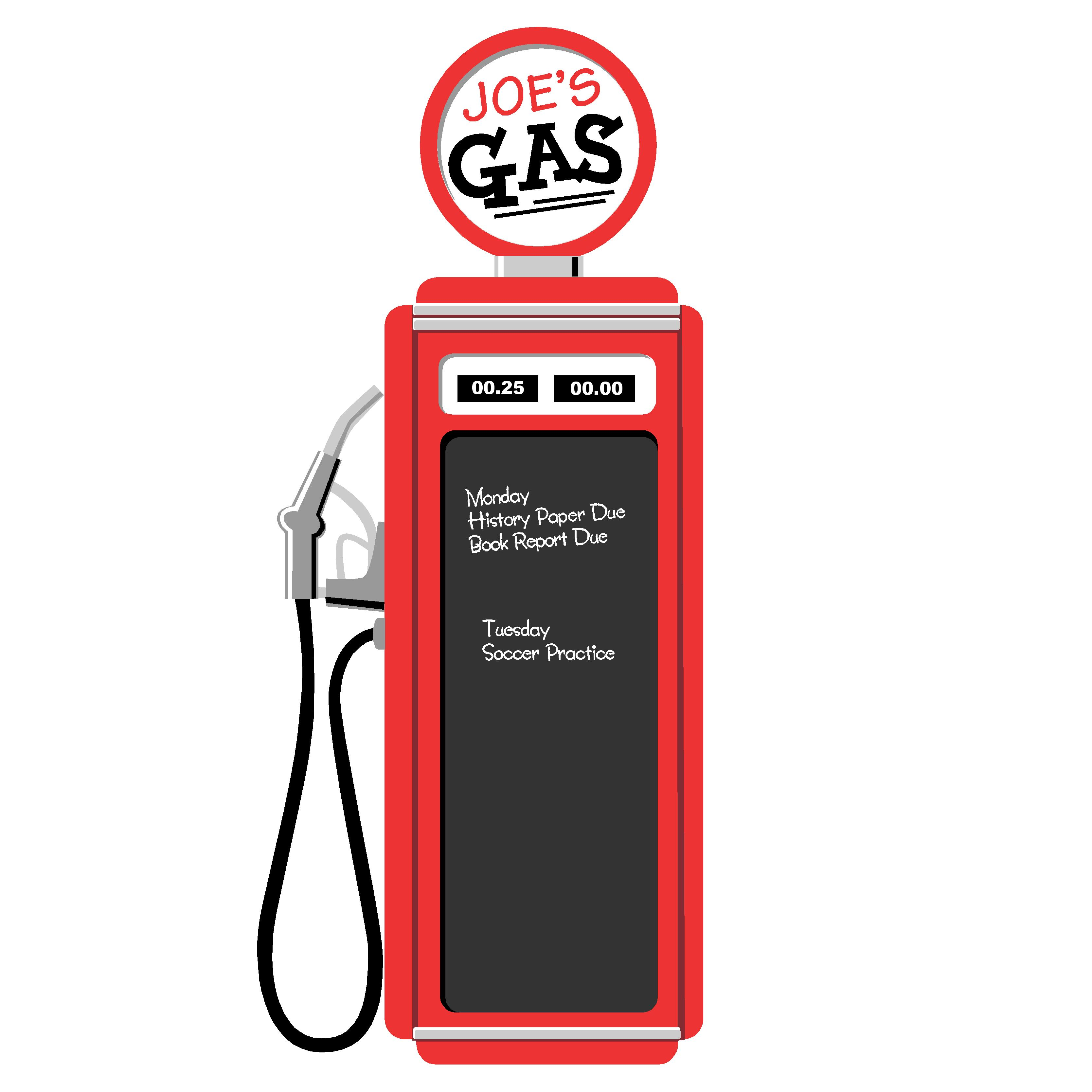 Clipart Gas Pump.