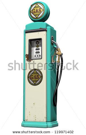 Vintage Gas Pump Stock Photos, Royalty.