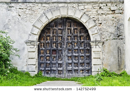 Old Gate Stock Photos, Royalty.