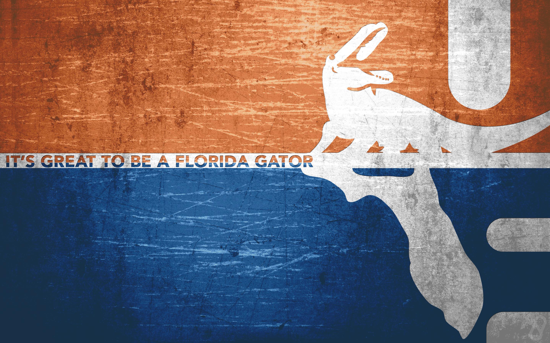 Florida Gators Old School Wallpaper.