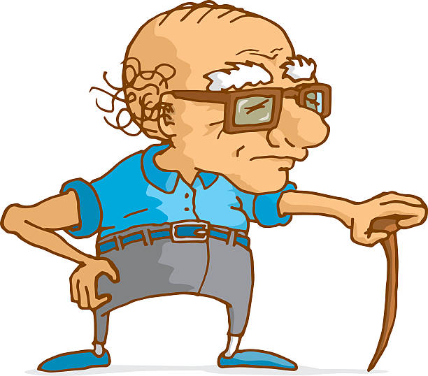 Old Man Clipart.
